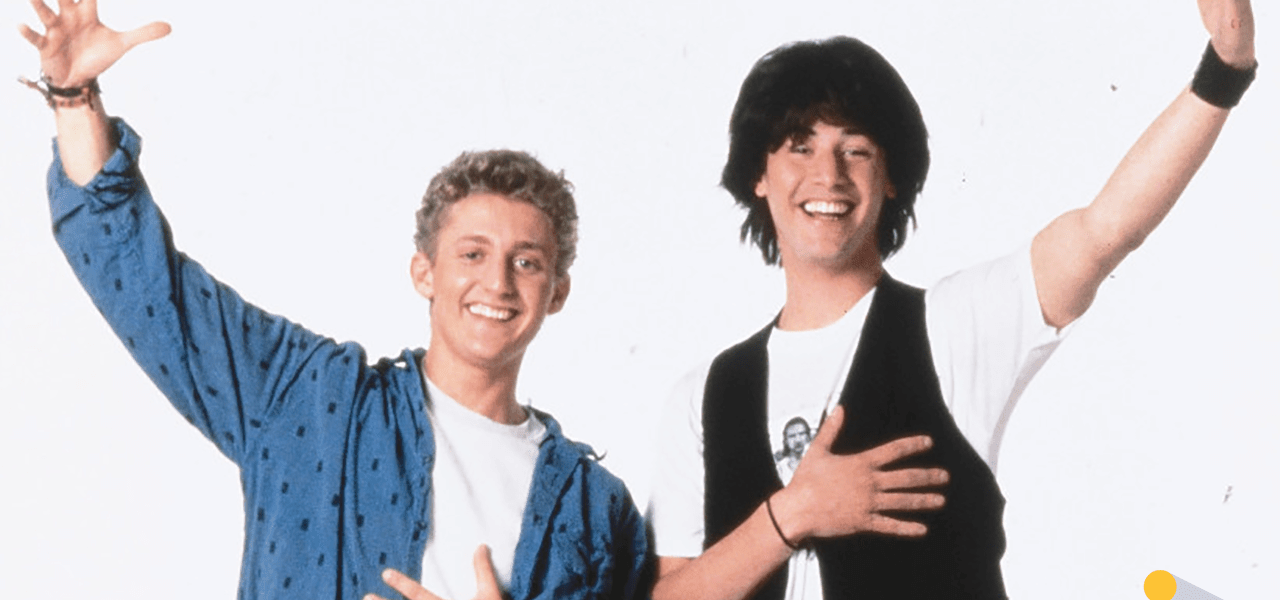 Ted & Bill from Bill & Ted's Most Excellent Journey